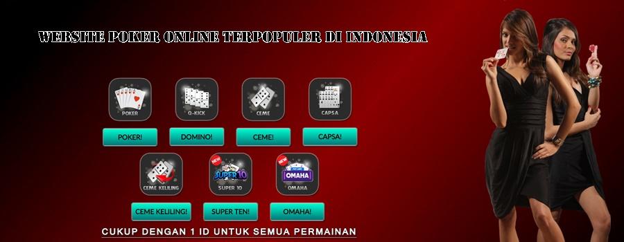 Website Poker Online Terpopuler Di Indonesia